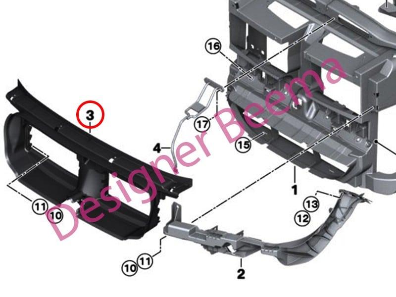 Genuine BMW Air Guide 51642990178