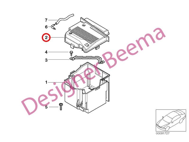 For Mini Genuine Battery Cover 61216915175
