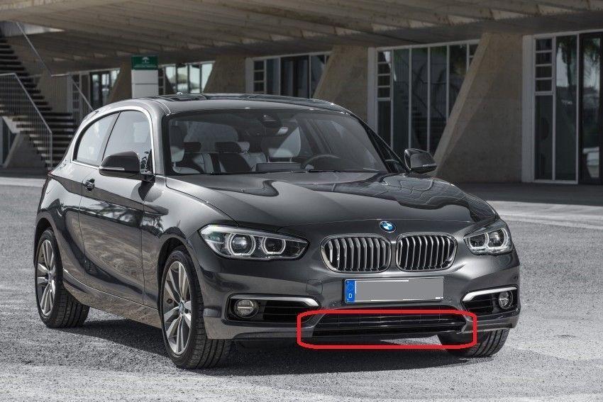 BMW New Genuine 1 Series F20 F21 Front Bumper Lower Trim Strip White Urban